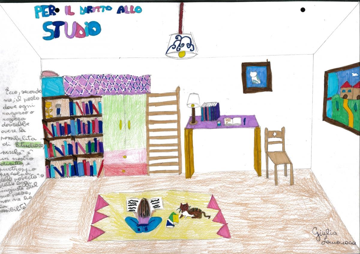 Giulia - 9 anni - diritto allo studio